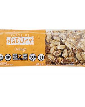 Baton bio cu portocale Taste of Nature