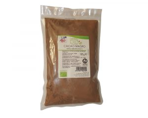 Cacao pudră degresata bio 125 gr