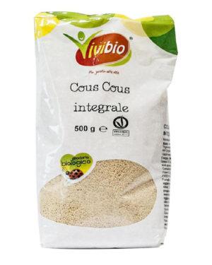 Couş couş integral bio din grâu dur Vivibio 500 gr