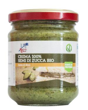 Cremă bio din seminţe de dovleac 100% 200 gr