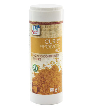 Curry bio cu recipient 80 gr