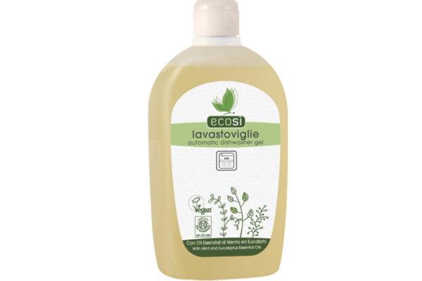 Detergent soluţie Eco pentru maşina de spălat vase, cu mentă şi eucalipt