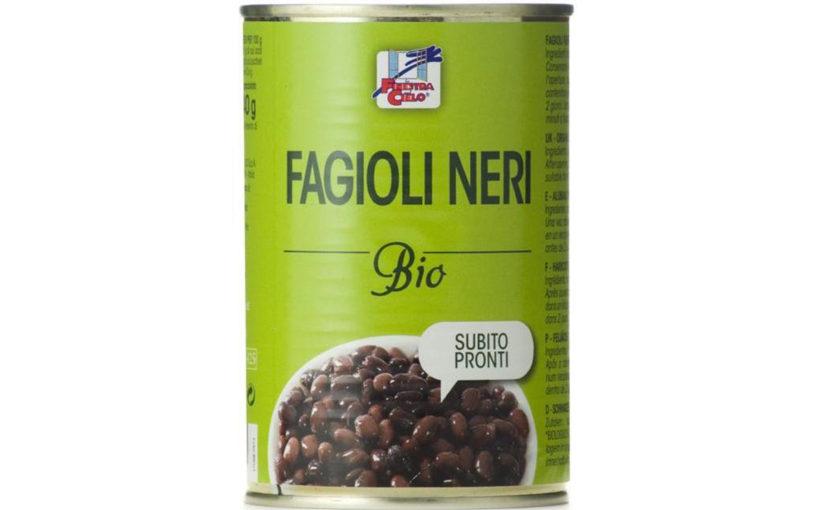 Fasole neagră bio 400 gr