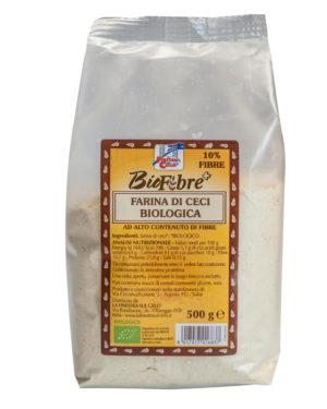 Făină bio de năut 500 gr