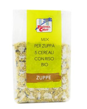 Orez bio cu 5 cereale 400 gr