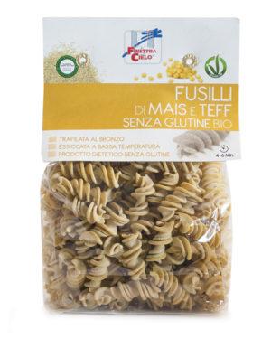 Paste Fusilli bio din porumb si teff 250 gr