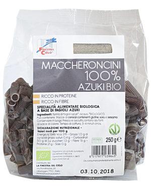 Paste bio Maccheroncini din fasole azuki 100% 250 gr