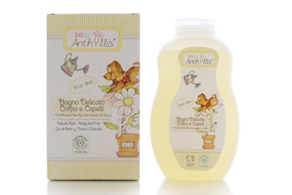 Şampon şi gel de duş pentru copii şi bebeluşi Baby Anthyllis