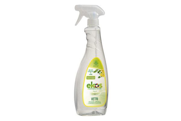 Soluţie ECO pentru curăţat geamuri, oglinzi şi suprafeţe din plastic Ekos