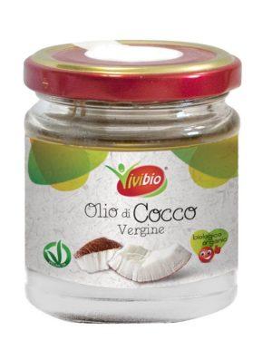 Ulei bio de cocos virgin Vivibio 300 gr