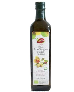 Ulei bio de masline extravirgin Vivibio 750 ml