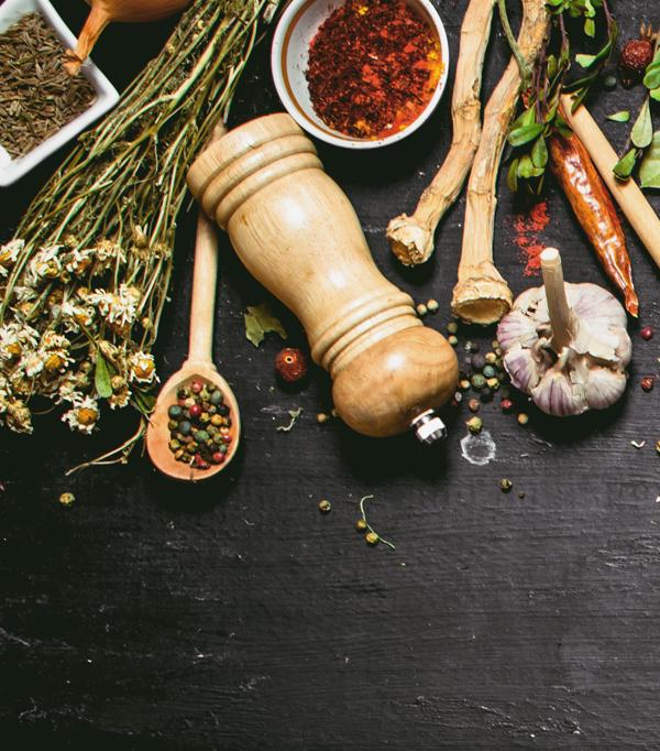 Condimente bio, arome și ingrediente patiserie