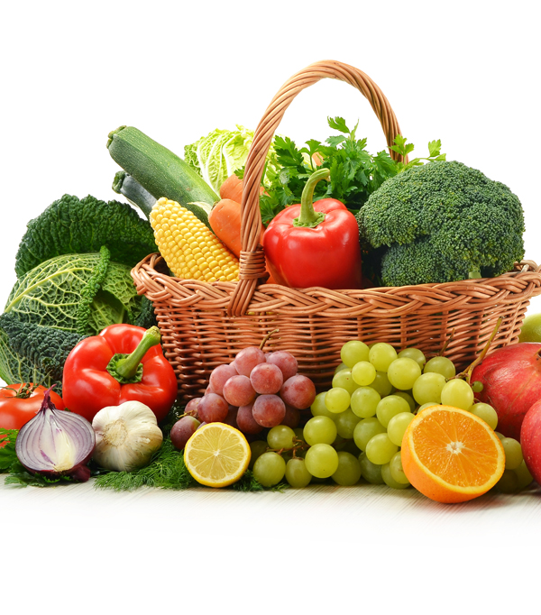 Fructe și legume bio proaspete