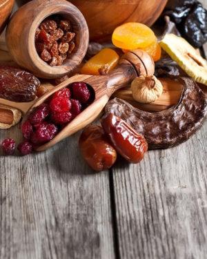 Fructe și legume bio uscate