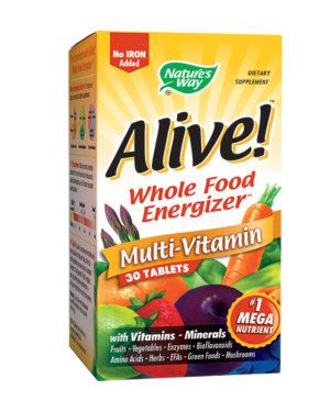 Alive! fără fier adaugat Secom 30 tablete