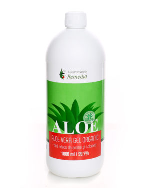 Aloe Vera Organic, Laboratoarele Remedia, 1000 ml + Cadou Baton cu Aloe Vera
