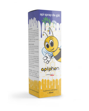 Apiphen api spray de gât 30ml