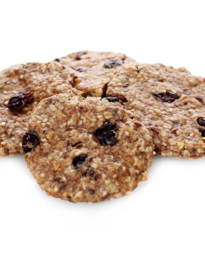 Biscuiți integrali cu seminte si merisor