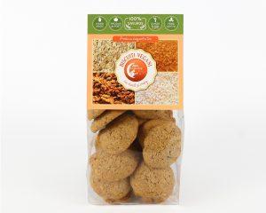 Biscuiţi vegani cu năut şi lămâie Hiper Ambrozia 150 g