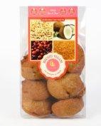 Biscuiţi vegani cu merişor şi cocos Hiper Ambrozia 150 gr