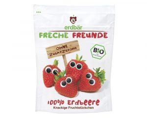 Căpșuni crocante bio 12g