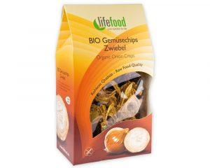 Chips din ceapă raw bio 60g