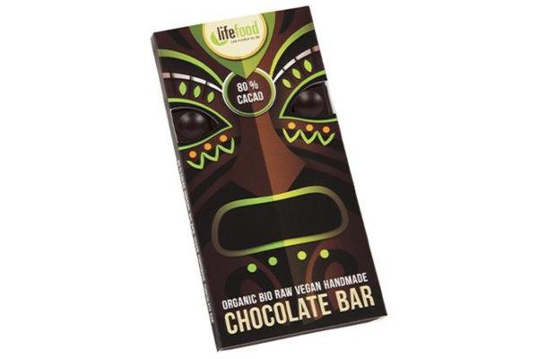 Ciocolată cu 80% cacao raw bio 70g