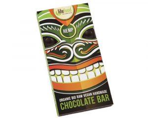 Ciocolată cu semințe de cânepă raw bio 70g