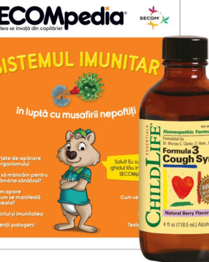 Cough Syrup gust de fructe Secom 118,5 ml