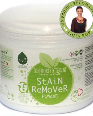 Detergent ecologic pentru îndepartat pete pudra 550g