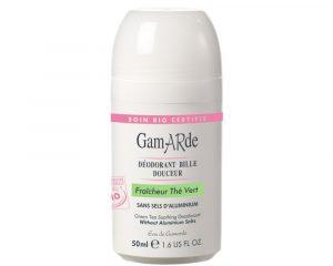 Deodorant natural roll-on cu ceai verde Gamarde bio 50ml