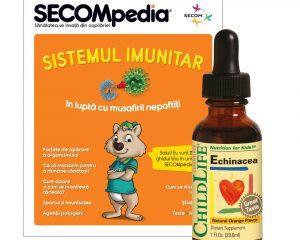 Echinacea pentru copii gust de portocale Secom 29,60 ml