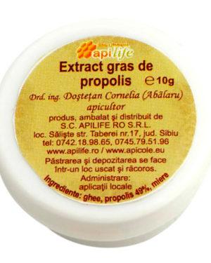 Extract gras de propolis Apilife 10 gr