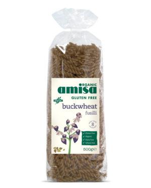 Fusilli din hrisca fără gluten bio 500g