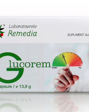 Glucorem, Laboratoarele Remedia, 20 capsule