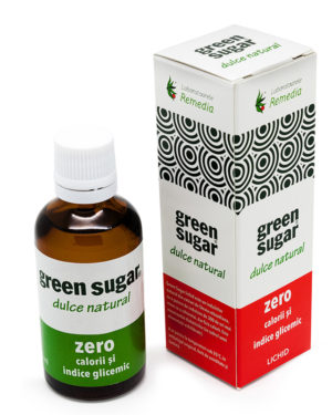 Îndulcitor lichid Green Sugar 50ml