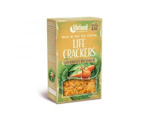 Crackers raw cu varză murată bio 90g