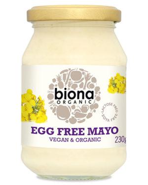 Maioneză fără ou bio 230g