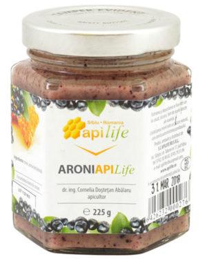 Miere cu aronia Apilife 225 gr