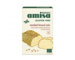 Mix pentru pâine fără gluten cu semințe bio 500g