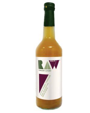 Oțet din cidru de mere nefiltrat Raw Health bio 500ml