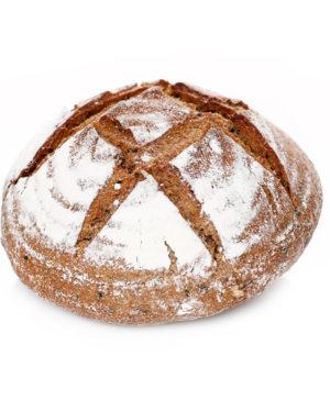 Pâine integrala cu susan negru