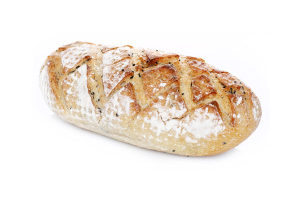Pâine albă cu negrilica