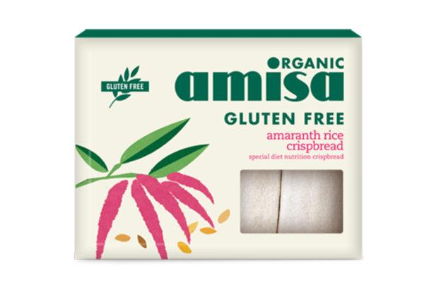 Pâinici din orez și amaranth fără gluten bio 150g