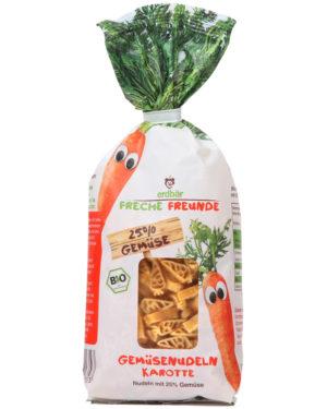 Paste pentru copii cu morcovi bio 300g