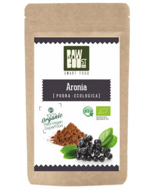 Aronia pudră Raw Boost 125 grame