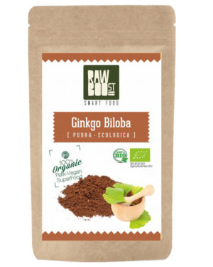Ginkgo Biloba pudră Raw Boost 100 grame
