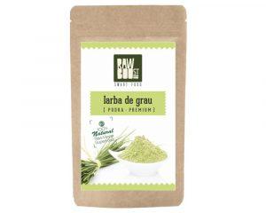 Iarbă de grâu pudră Raw Boost 125 grame