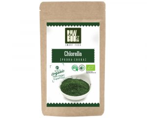 Chlorella pudră Raw Boost 125 grame