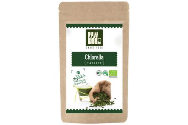Chlorella tablete Raw Boost 125 grame